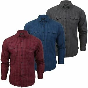 Mens-Check-Shirt-by-Smith-amp-Jones-039-Porticus-039-Long-Sleeved