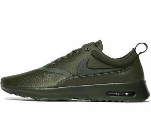 Nike-Air-Max-Thea-Premium-Donna-Ultra-misure-UK-6-EUR-40-Sequoia-Oliva-Nuovo