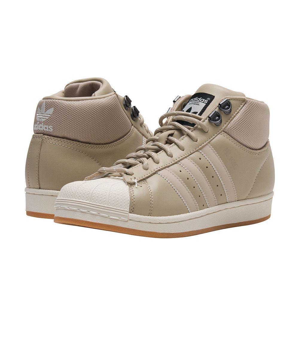 adidas männer pro model bt hohe turnschuhe an schuhen b39509 größe beige / khaki - größe b39509 12 cb99df