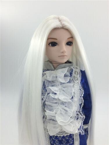 "New 1//6 Girl BJD SD Doll Wig Dollfie 6/"" DZ DOD LUTS High Temperature Wire Hair"