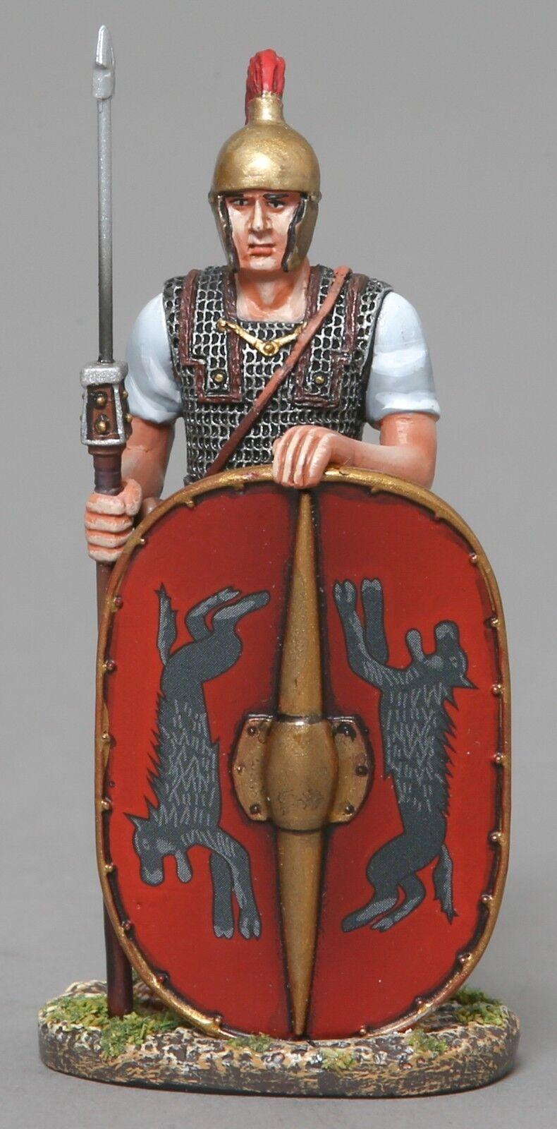 Thomas Gunn Roman Empire romrep001b Legionär stehend bereit Leaping Wolf MIB
