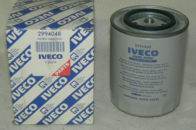 IVECO filtre a gasoil 2994048 pièce 100 % origine origin original Fuel Filter