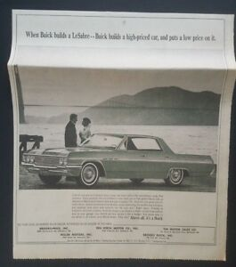 1964 Buick Lesabre Photo Baltimore Car Dealership Newspaper Vintage
