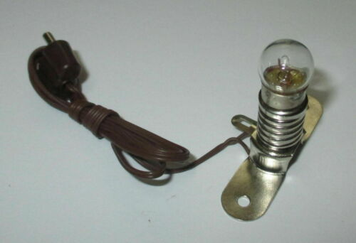 Kahlert-socket illuminazione 3,5 Volt e10 Nuovo//Scatola Originale