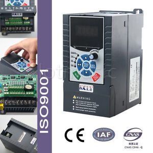 1 5kw 2hp 7a 220vac single phase variable frequency drive for 7 5 hp 220v single phase motor
