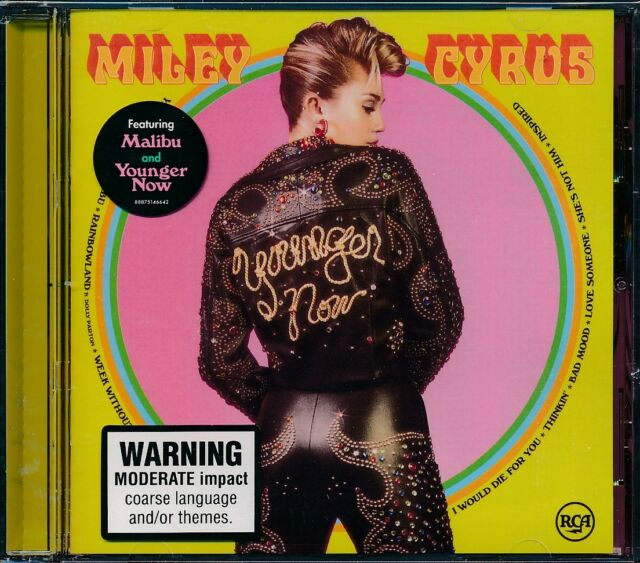 Miley Cyrus Younger Now CD NEW
