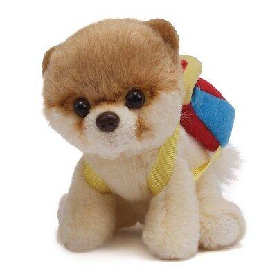 GUND -  DOG  - ITTY BITTY  BOO  #20  -  BACKPACK  -  #4044045 - NWT