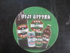 "Australian Issue  /"" FIJI BITTER  /"" BEER  Coaster 1 only FIJI  Brewery"