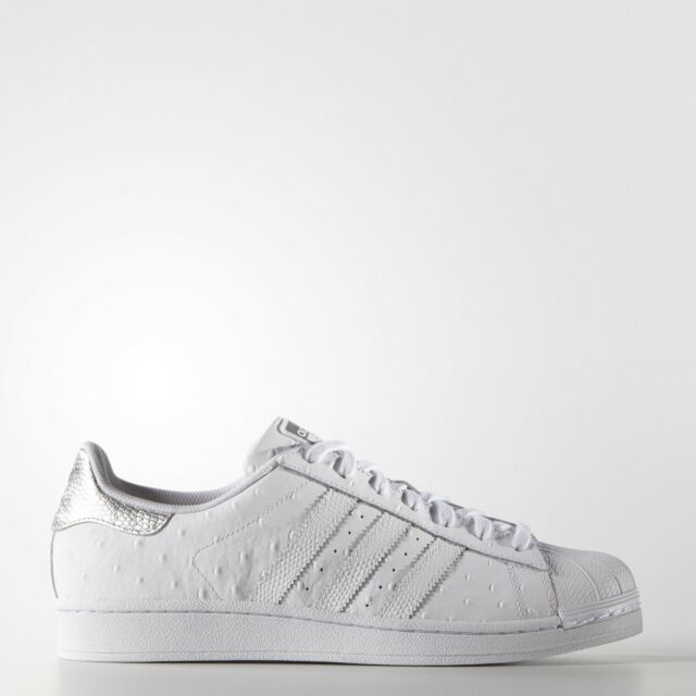 the best attitude 91e28 3dde9 NEW Men s Adidas Superstar Shoes Color  White Size  10