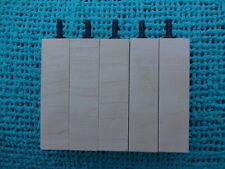 """5 wooden air diffuser wood airstone air  3"""" x 3/4""""  limewood skimmer"""