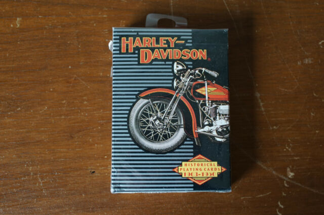 1997 Harley Davidson Motorcycle Historical Playing Cards 1903-1950 Made In USA