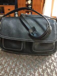 Image Is Loading Nwot Ann Taylor Loft Leather Shoulder Bag Purse