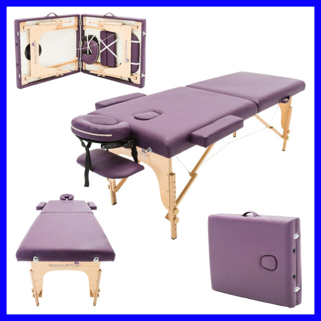 Tremendous Purple Charbury Portable Massage Table Couch Beauty Therapy Bed Reiki Home Interior And Landscaping Eliaenasavecom