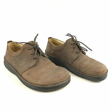 Footprints Birkenstock Corvallis Brown Nubuck Leather Oxford Shoes 38/US 7-7.5