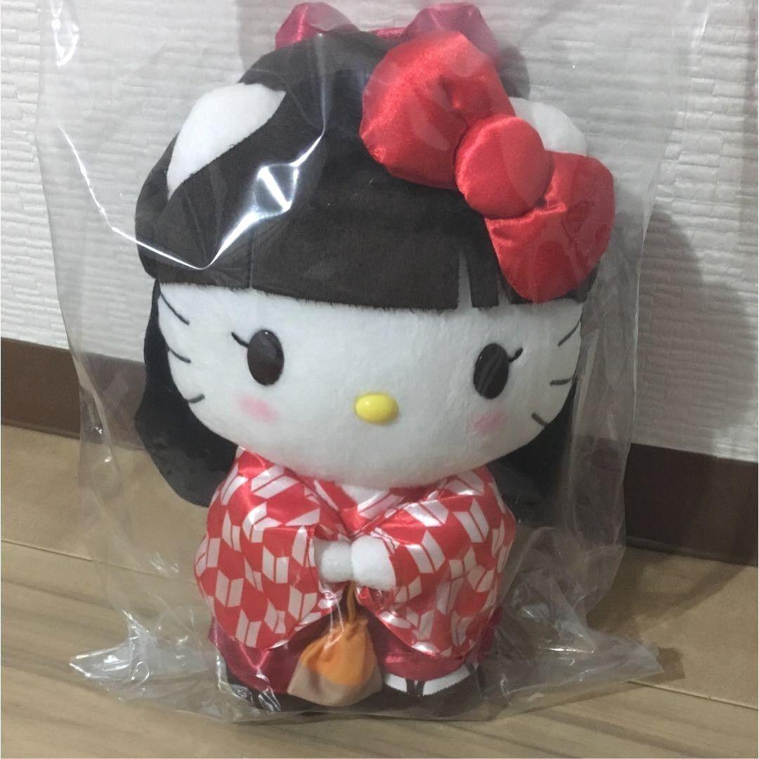 Hola Kitty X. Peluche de Mamujer. Kimono, mascota mascota mascota de cosJugar, Nueva colección de Sanrio. 6ee