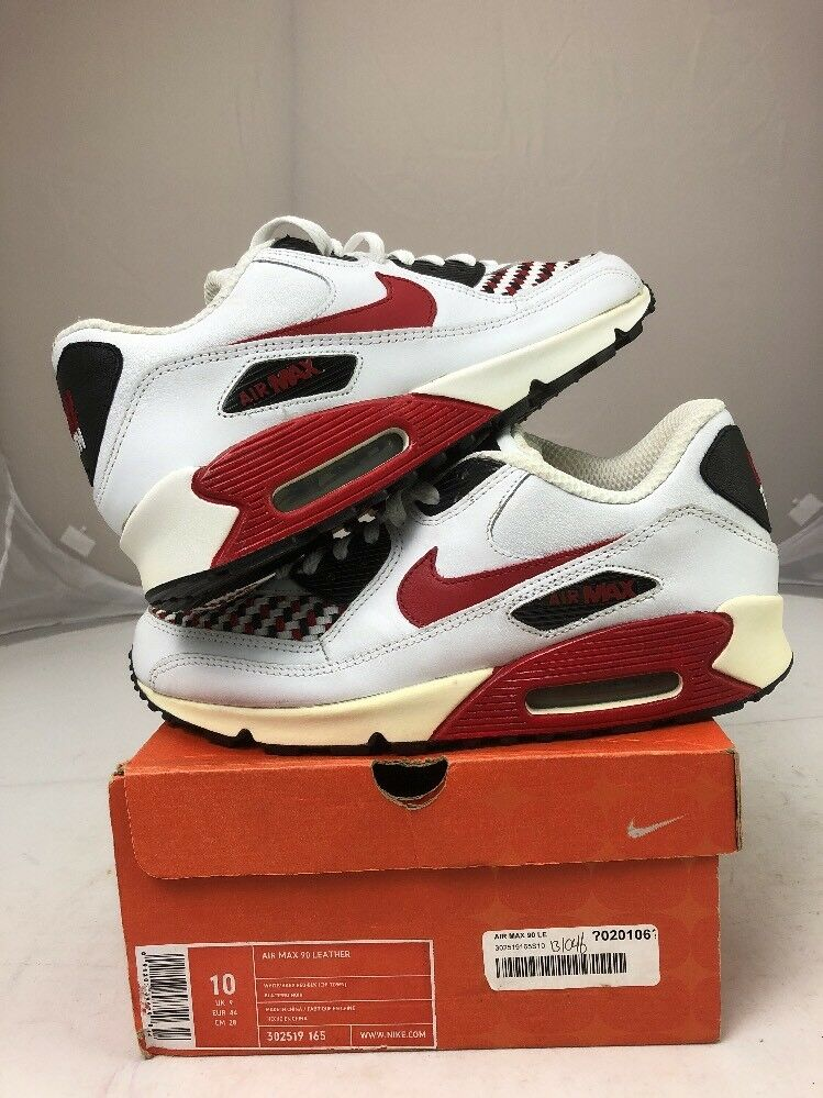 Nike Air Max 90 Leather CHITOWN 2005. Sz 10 Ds Rare 2005. CHITOWN 873884