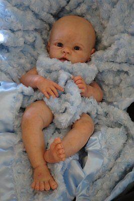 Reborn Doll Kit with 3//4 Limbs newborn Supply Doll Kits Unpainted 20/'/' Handmade