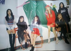 G-I-DLE-I-Am-Official-Folded-Album-Poster-Kpop-G-IDLE-UK
