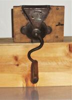 Yosoo123 Moulin /à caf/é Manuel en Bois Vintage , Moulin /à caf/é en Grains avec manivelle en c/éramique Moulin /à Herbes /à Poivre pour la Maison