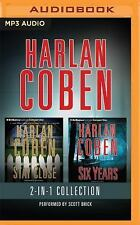 HARLAN COBEN 2-IN1 STAY CLOSE & SIX YEARS AUDIO BOOKS