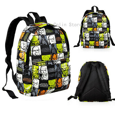 "12"" Star Wars Small Boy Back to School Backpack Boys Kids Shoulder Bags Satchel"