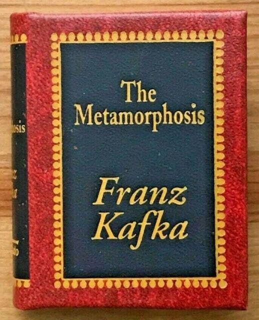 Del Prado Miniature Book - The Metamorphosis By Franz Kafka. Superb Condition.