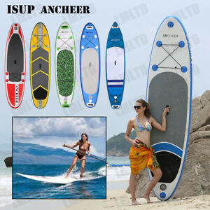 Inflatable-Stand-Up-Paddle-Board-6-Inches-Thick-Universal-SUP-Wide-Stance-LOT