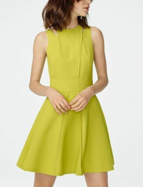 armani exchange fit and flare dress