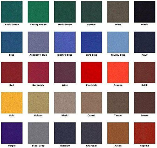 7/' ProLine Classic 303 Billiard Pool Table Cloth Felt   30 COLORS TO CHOOSE FROM