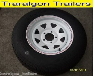 wheel-tyre-package-185-R14-LT-5-stud-8-ply-suit-HT-HG-HK-holden-trailer-WH3