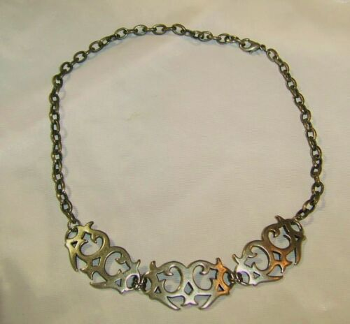 Vintage Metal SPIKED DESIGN IN FRONT CHAIN LINK CH