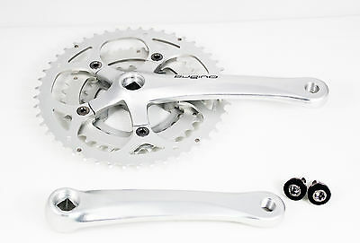 Sugino XD2 Road Cyclocross CX Bike Crank Bicycle Crankset 48/36/26t 175mm 756g