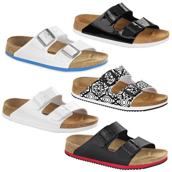 Birkenstock Arizona SL Birko-Flor Schuhe Professional Sandale Pantoletten Clogs