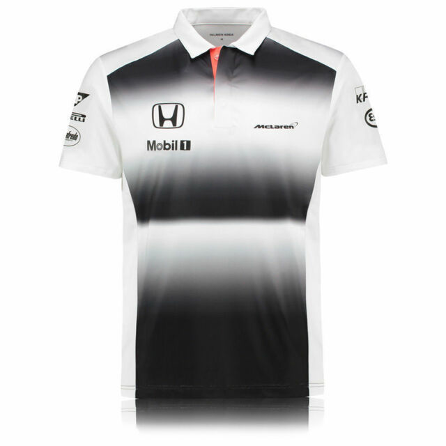McLaren Honda F1 Team Polo Shirt Official 2016 BNWT Size Large