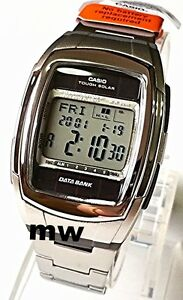 Genuine-Casio-Tough-Solar-DATA-BANK-Alarm-World-Time-Digital-DB-E30D-Men-039-s-Watch