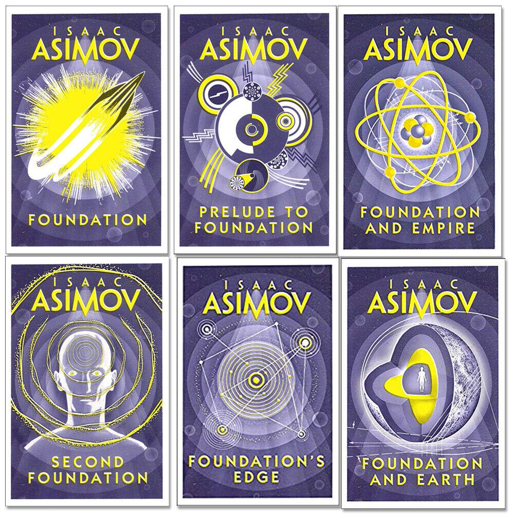 Image 1 - isaac asimov foundation series 6 books collection set - (foundation,foundation a