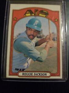 1972-Topps-Set-Break-435-Reggie-Jackson-Oakland-Athletics-A-039-s-Yankees-HOF-MLB