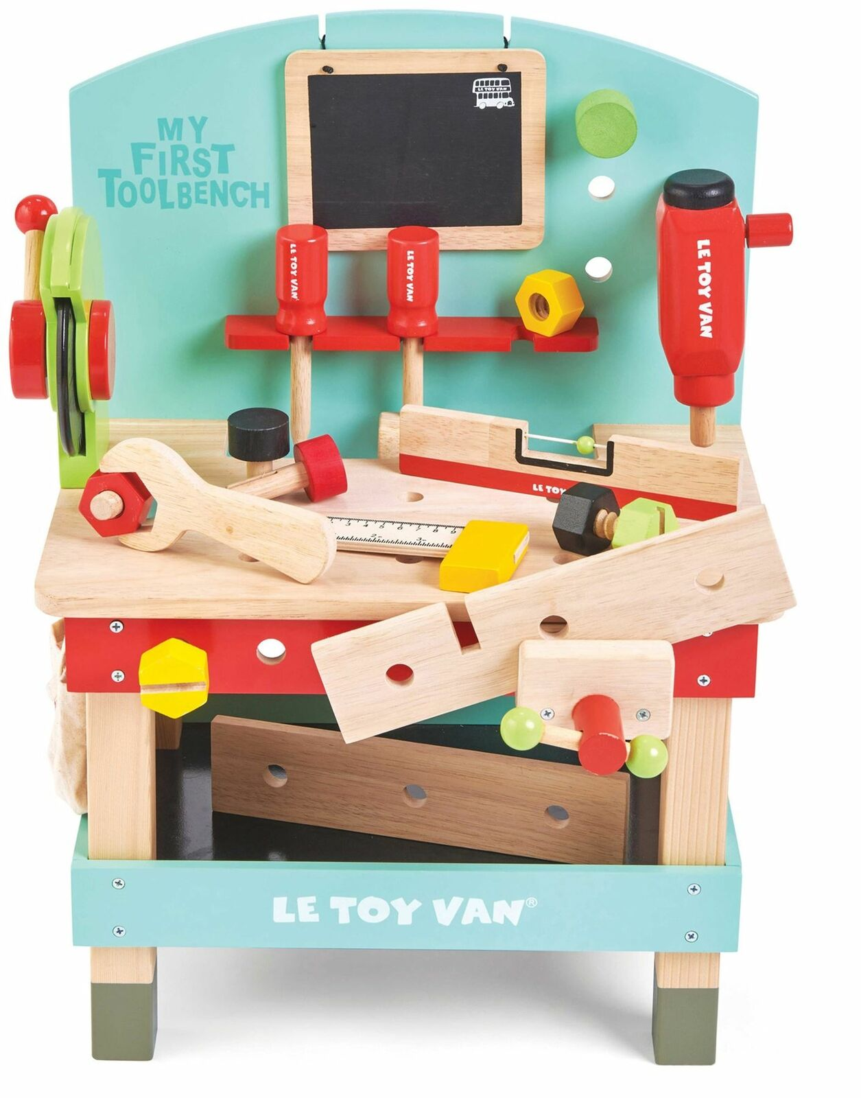 Le Toy Van CARS & CONSTRUCTION MY FIRST TOOL BENCH BENCH BENCH Wooden Toy BN 0f4d37