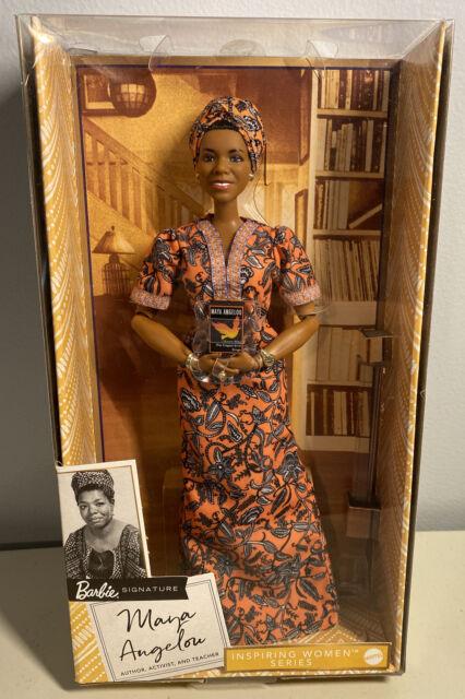 Barbie Signature Inspiring Women Maya Angelou Collector Doll