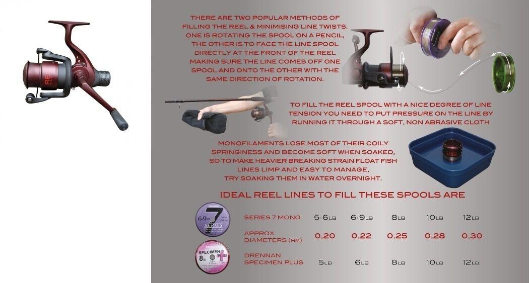Drennan Rosso Gamma Float 6-30 Feeder Mulinello da pesca 6-40