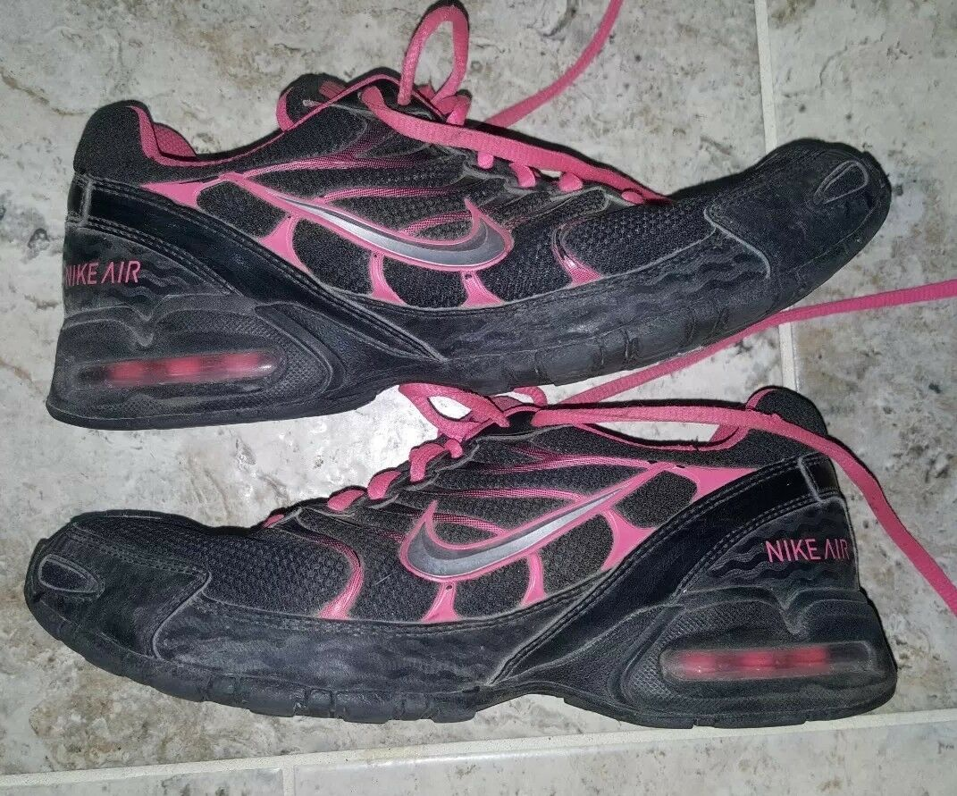 Nike Air Max Torch 4 Women's 343851-006 Black  Pink Running shoes Size US8 UK5.5
