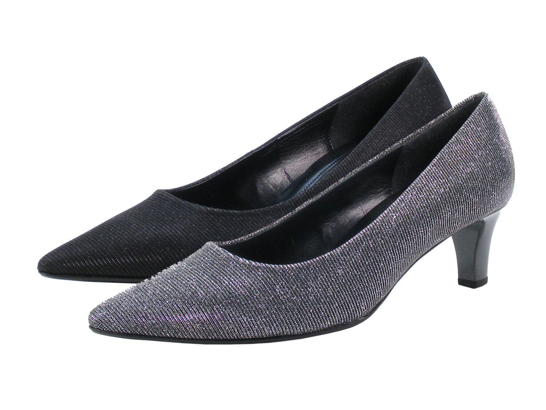 Gabor 91-350 Zapatos ancho señora pumps ancho Zapatos f efecto metalizado 85336e