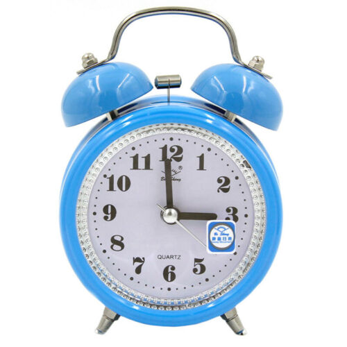 LED Digital Alarm Clock Snooze Quartz Date Analogue Table Clock Home Bedroom