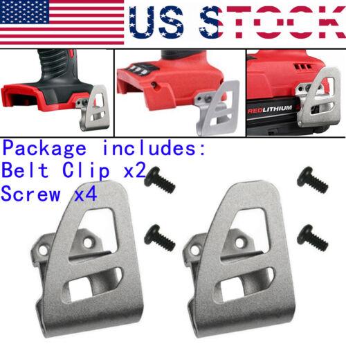 Belt clip Hook free Screw For Milwaukee 18V 2603-22CT 2603-20 2653-22CT