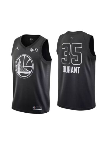 NWT $225 AUTHENTIC NIKE NBA 2018 ALL STAR KEVIN DURANT Stitched SZ 40 Small ?