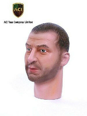 Modern Heroes Character Head Sculpt Stone Vo 1 1//6th Scale Head Sculpt by ACI