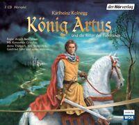 König Artus und die Ritter der Tafelrunde. 3 CDs von Karlheinz Koinegg - NEUWERT