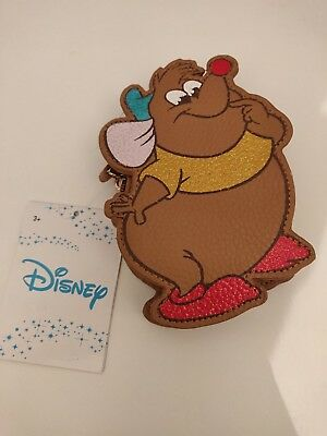 "Gus /""Cinderella/"" Disney Coin Purse Brand New"