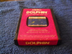 ATARI-2600-GAME-Dolphin-Activision-1983-Cartridge-Only