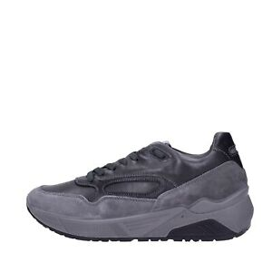 Igi & co Sneakers Daim / cuir Anthracite Homme 6142422